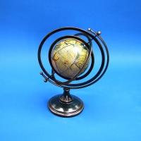 KY-508 (2) 37*20*50см Глобус на подставке из кож.зама и металла