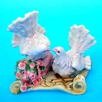 MR-51101 (36)  11*9*10см. Пара голубей, полистоун