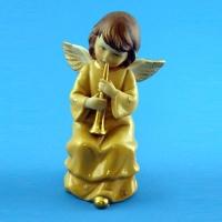 ST-34 (48) Ангел играющий на дудочке 6*9*15 см
