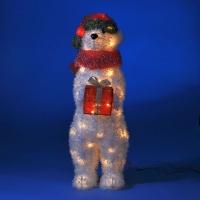 ST-9653 (1) Медведь с подарком 18*30*64