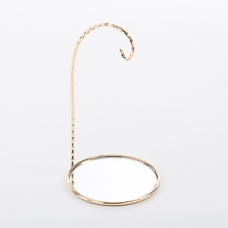 U-11/G  (96) d=8см, h=15см. Подставка с зеркалом для подвесных фигурок