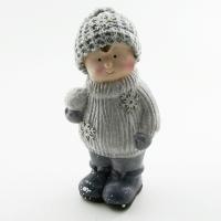 Q-25814 (32) 10*8*22см. Ребенок в зимней одежде
