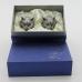 R-94712 (20)  d=4.5см h=8.5см  Набор из 2-х стопок с персидским котом (50мл/стопка)