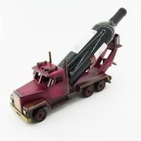 KT-45102 (15)  11*39*15см Подставка для вина в виде грузовика