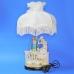 QP-80220L (4) 4d=36см, h=60см Лампа с фарфоровой статуэткой