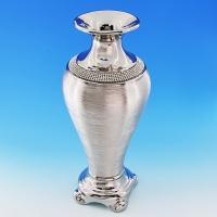 YC-70509 (6) 15*15*35,5см Керамическая ваза серого цвета