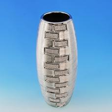 YC-70514 (12) 13*13*30,5см Керамическая ваза серого цвета