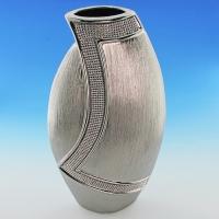 YC-70520 (6) 20*9,5*40см Керамическая ваза серого цвета