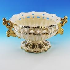 GF-62013 (4) 27,5*22*13см Керамическая ваза для фруктов