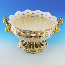 GF-62014 (4) 36*30*19,5см Керамическая ваза для фруктов