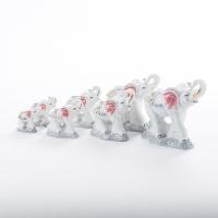 GE-57046 (16наб) 15*6*13,5см. Набор из 7 слонов