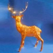 Новогодние светодиодные фигуры оленя