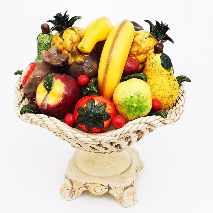 Как украсить вазу с фруктами фото